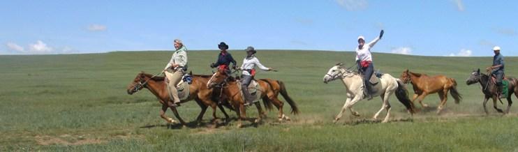 mongolische reiter